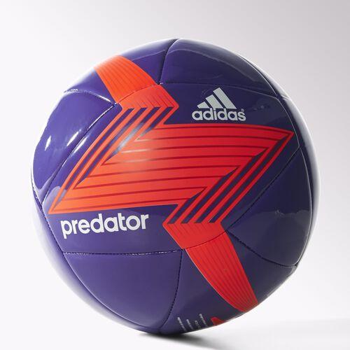 adidas - Predator Glider Soccer Ball Night Flash / Solar Red / Red / White M36968