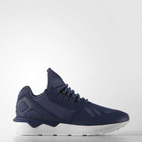 adidas - Men's Tubular Runner Shoes Oxford Blue / Oxford Blue / Super Yellow S81507