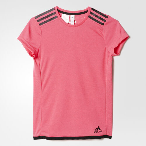 adidas - Youth Uncontrol Climachill Tee Chill Super Pink Mel / Black AB4792