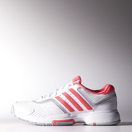 adidas - Femmes Barricade Court Shoes Ftwr White / Flash Red / Clear Onix M21709