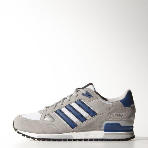adidas - Hommes ZX 750 Shoes Mgh Solid Grey/Dark Marine/Lgh Solid Grey B39988