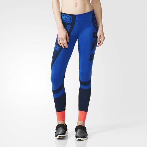 adidas - Women's adidas Stellasport Graphic Tights Bold Blue 946398
