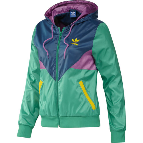 adidas - Femmes Colorado Windbreaker Fresh Green / Joy Orchid / Tribe Blue / Rhythm Yellow F78269
