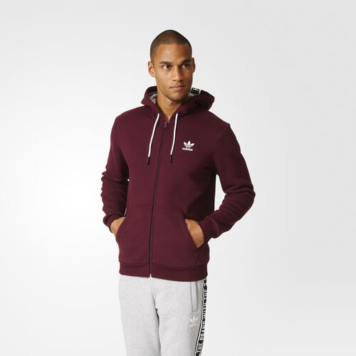 Men's Essentials Full-Zip Hoodie Adidas