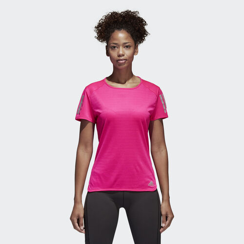adidas - Camiseta Response SHOCK PINK S16 BP7466