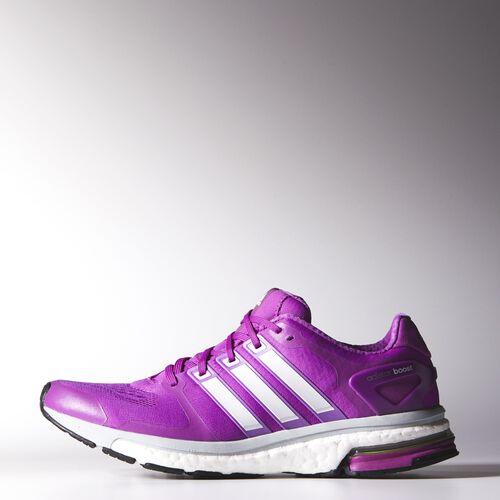adidas - Women's adistar Boost ESM Shoes Flash Pink/Zero/Clear Grey B26736
