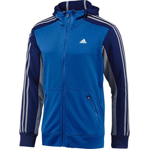adidas - Men's 365 Full Zip Hoodie Blue Beauty / Night Blue G69203