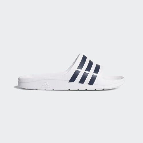 adidas - Duramo Slide White / Collegiate Navy / White F32892