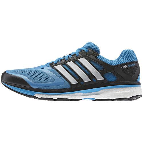 adidas - Men's Supernova Glide Boost Shoes Solar Blue / Tech Grey Met F32277