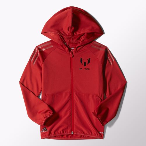 adidas - Youth Messi Hoodie Power Red S09873