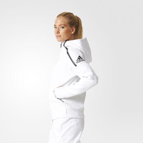 adidas - Women's adidas Z.N.E. Hoodie White S94564