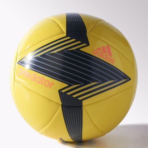 adidas - Predator Glider Soccer Ball Bright Yellow / Dark Grey / Grey / Flash Orange M36967