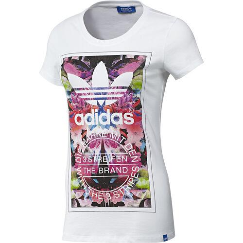 adidas - Femmes Flower Madness Tee White F82111