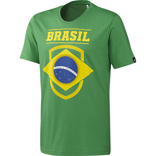 adidas - Men's Brazil Tee Real Green S05688