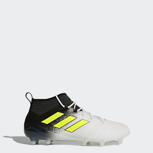 adidas - ACE 17.1 Firm Ground Cleats Running White Ftw  /  Electricity  /  Core Black S77035