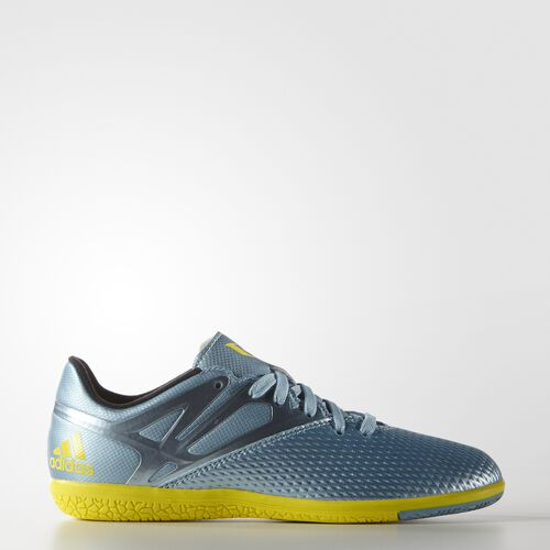 adidas - Enfants Messi 15.3 Indoor Shoes Matt Ice/Bright Yellow/Core Black B32897