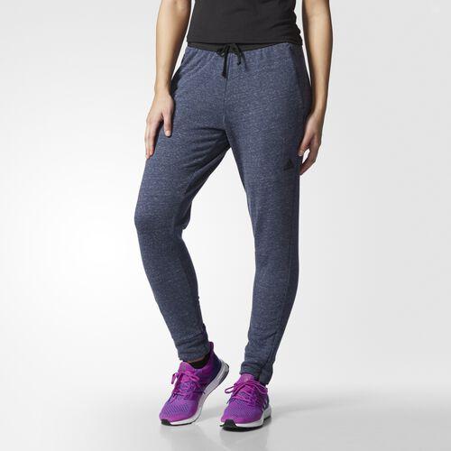 adidas - Women's Melange Tapered Pants Pepper Coll Navy Mel S93961