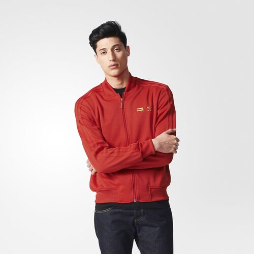 adidas - Supercolour Track Jacket Red S09 AC5922