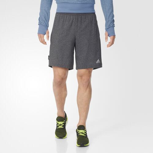 adidas - Men's Aktiv Heather Shorts Utility Black AX5891