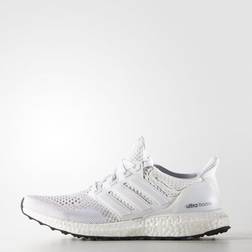adidas - Femmes Ultra Boost Shoes White /  White / Silver Met. S77513