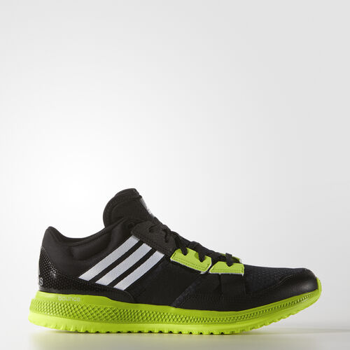 adidas - Hommes ZG Bounce Trainer Shoes Dark Grey/White/Semi Solar Slime AF5480