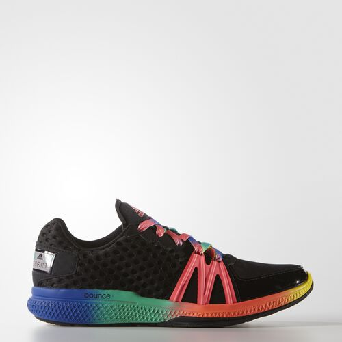 adidas - Femmes adidas STELLASPORT Ively Shoes Core Black/Turbo/Bright Yellow AF5908
