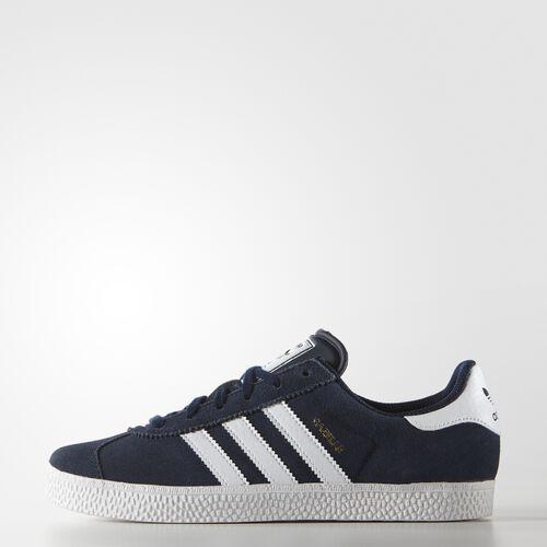 adidas - Enfants Gazelle 2.0 Shoes Collegiate Navy/White B24620