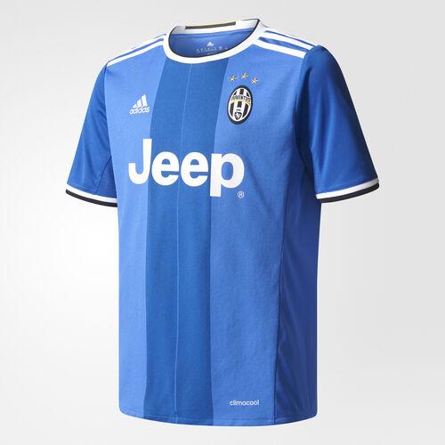 adidas - Youth Juventus Away Replica Jersey Vivid Blue S14 / Victory Blues07 / White AI6228