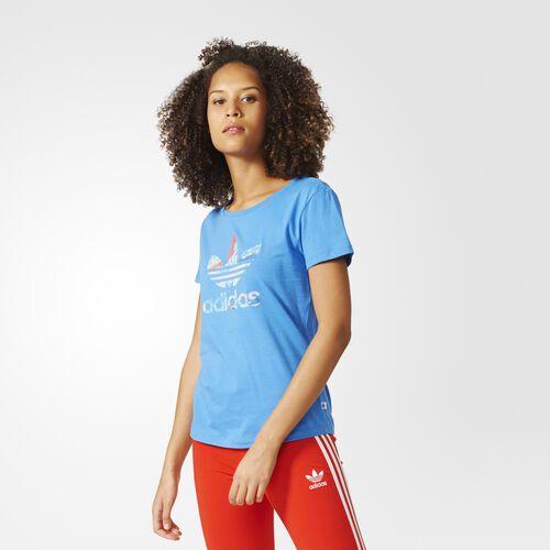 adidas - Playera Trefoil Los Ángeles Super Blue BK2096