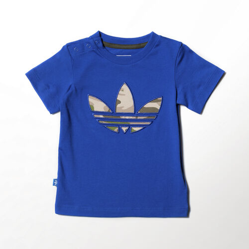 adidas - Infants Camo Tee Power Blue M63383