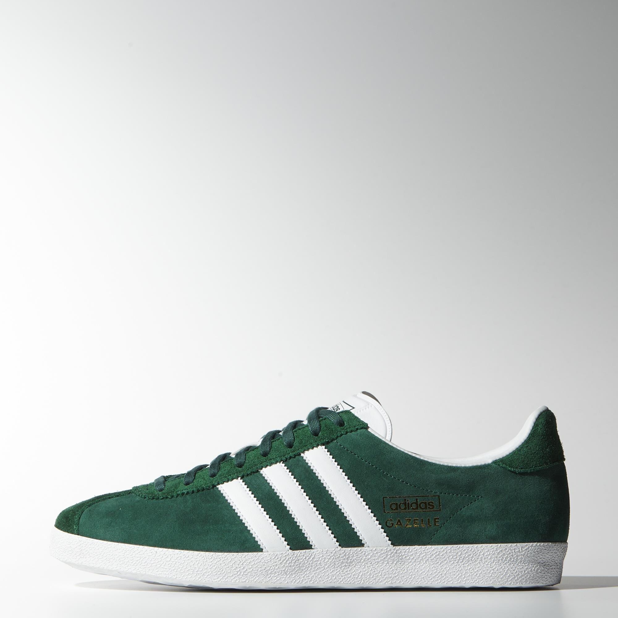 adidas green gazelle