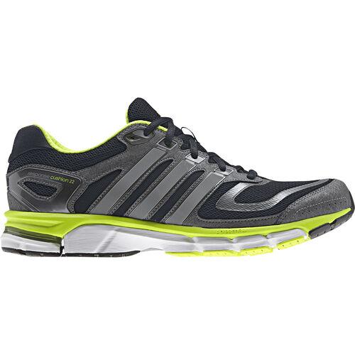 adidas - Hommes Response Cushion 22.0 Shoes Night Shade / Tech Grey Metallic / Solar Slime D67063