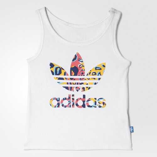 adidas - Infants Football Tank Top Set WHITE/MULTCO AI9998