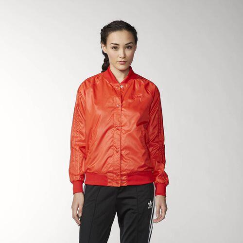 adidas - Femmes Basic College Jacket Red S19836
