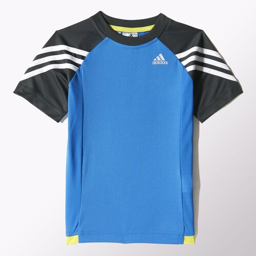 adidas - Kids Gym Tee Bright Royal / Dark Grey / Semi Solar Yellow / White S22177