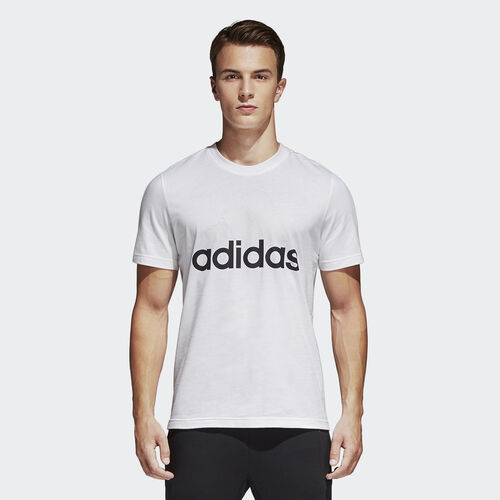 adidas - Playera Essentials WHITE S98730