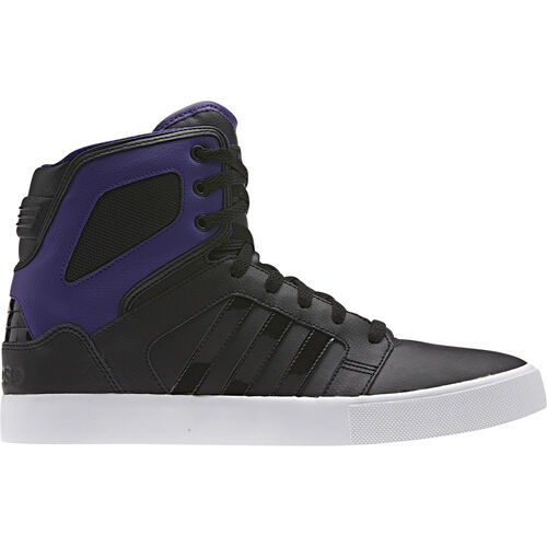 adidas - Hommes BBNEO Hi Top Shoes Black / Collegiate Purple / Black Q38756