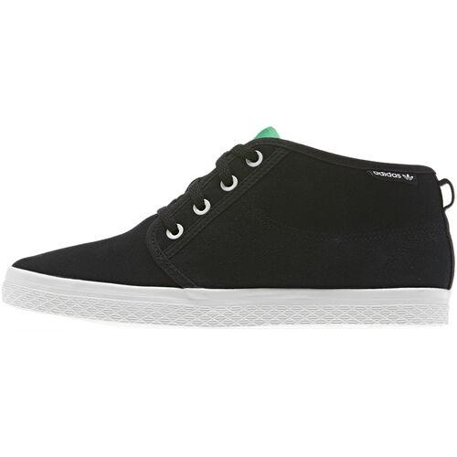 adidas - Women's Honey Desert Leather Black / Fresh Green D65467