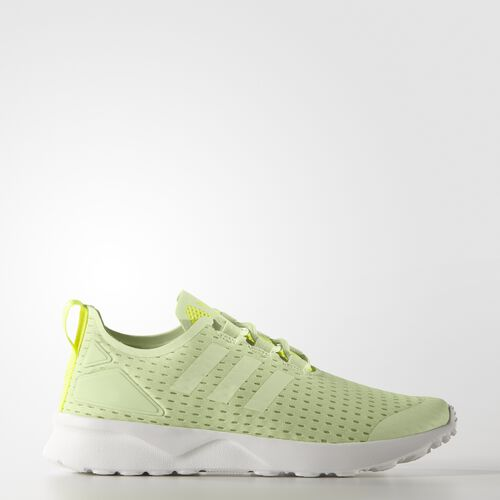 adidas - Women's ZX Flux ADV Verve Shoes Halo/Halo/Solar Yellow S32056