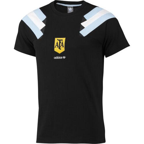 adidas - Men's Argentina Football Tee Black F77287