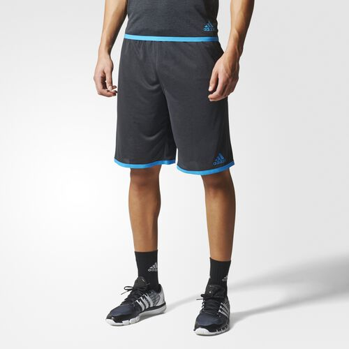 adidas - Men's Uncontrol Climachill Shorts Chill Black/Chill Blue S27009
