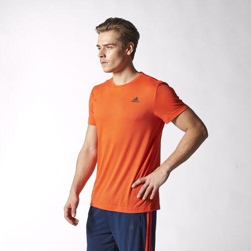 adidas - Hommes Sport Essentials Tee Semi Solar Red / Black S12896