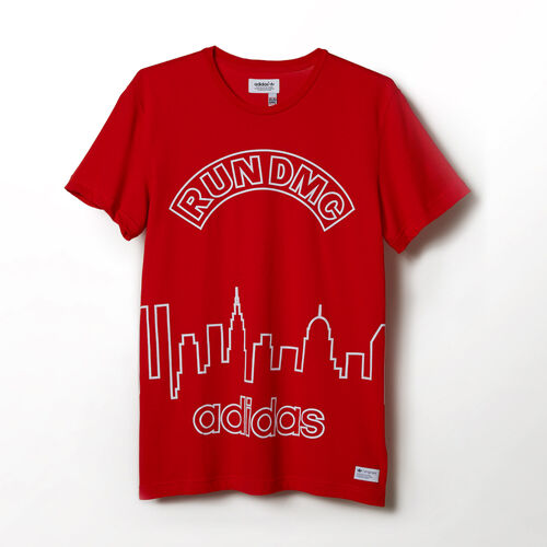 adidas - Hommes Graphic Tee Red M64448