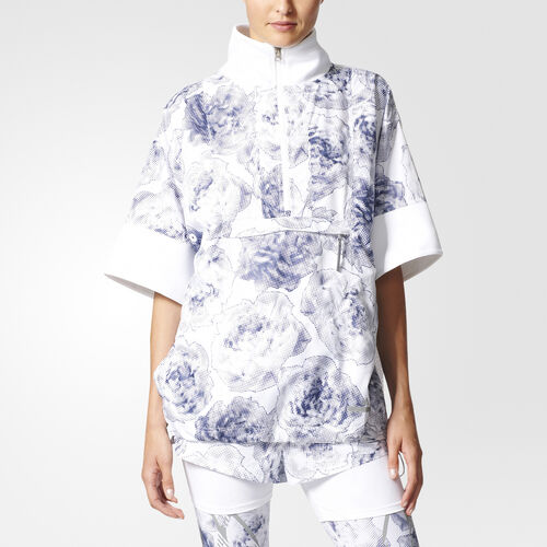 adidas - Sudadera Run Floral Pull-on White/Noble Ink S99247