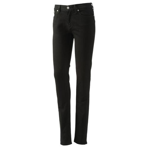 adidas - Femmes Super Skinny-Fit Jeans Dark Black Denim G76714