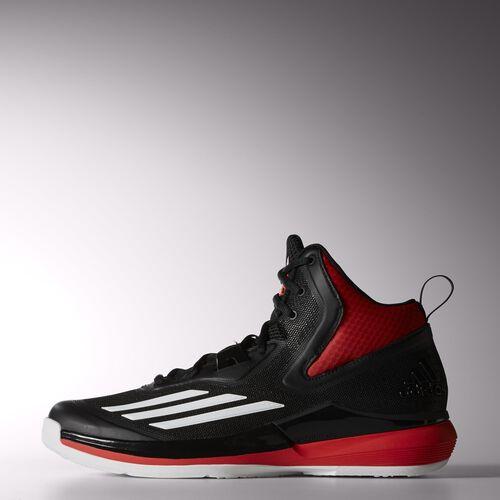 adidas - Men's Title Run Shoes Core Black / Ftwr White / Bright Red S84202