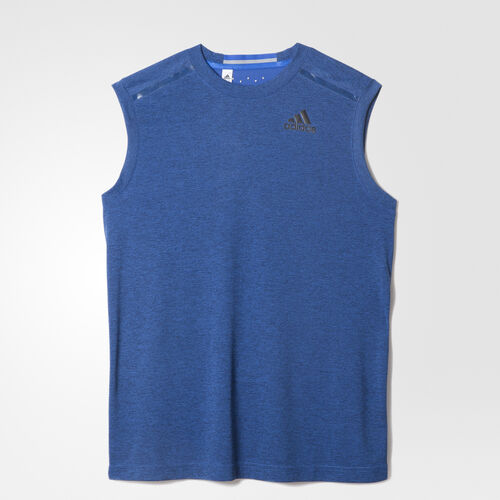 adidas - Men's Climachill Sleeveless Tee Chill Blue/B Dd S94519