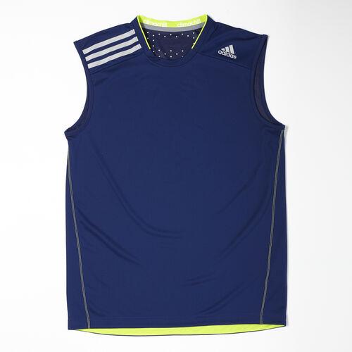adidas - Men's Climachill Sleeveless Tee Night Blue D83193