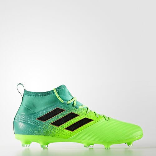 adidas - BOTINES DE FÚTBOL ACE 17.2 Primemesh SUELO FIRME Solar Green/Core Black/Core Green BB5968