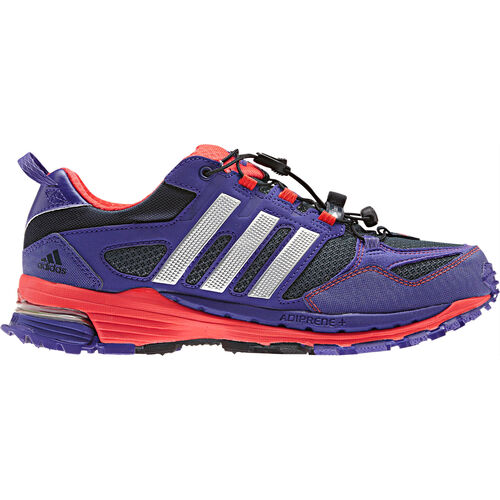 adidas - Women's Supernova Riot 5 Shoes Night Shade / Blast Purple / Metallic Silver G97231